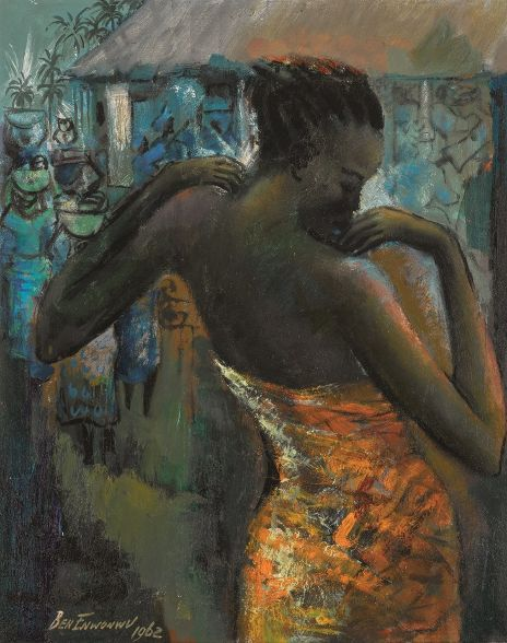 Sotheby's: Sale of Modern and Contemporary African Art lead by two