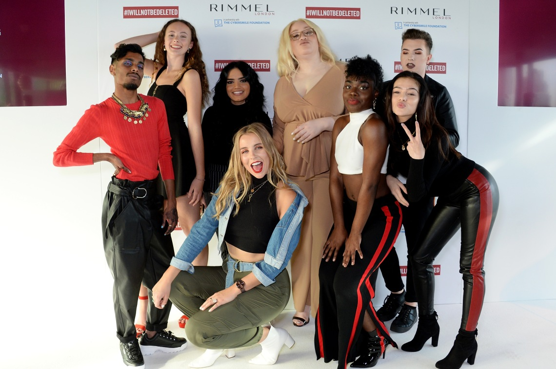 RIMMEL LONDON LAUNCHES I WILL NOT BE DELETED GLOBAL CAMPAIGN