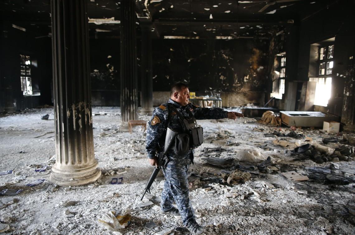 IRAQ-CONFLICT-MUSEUM