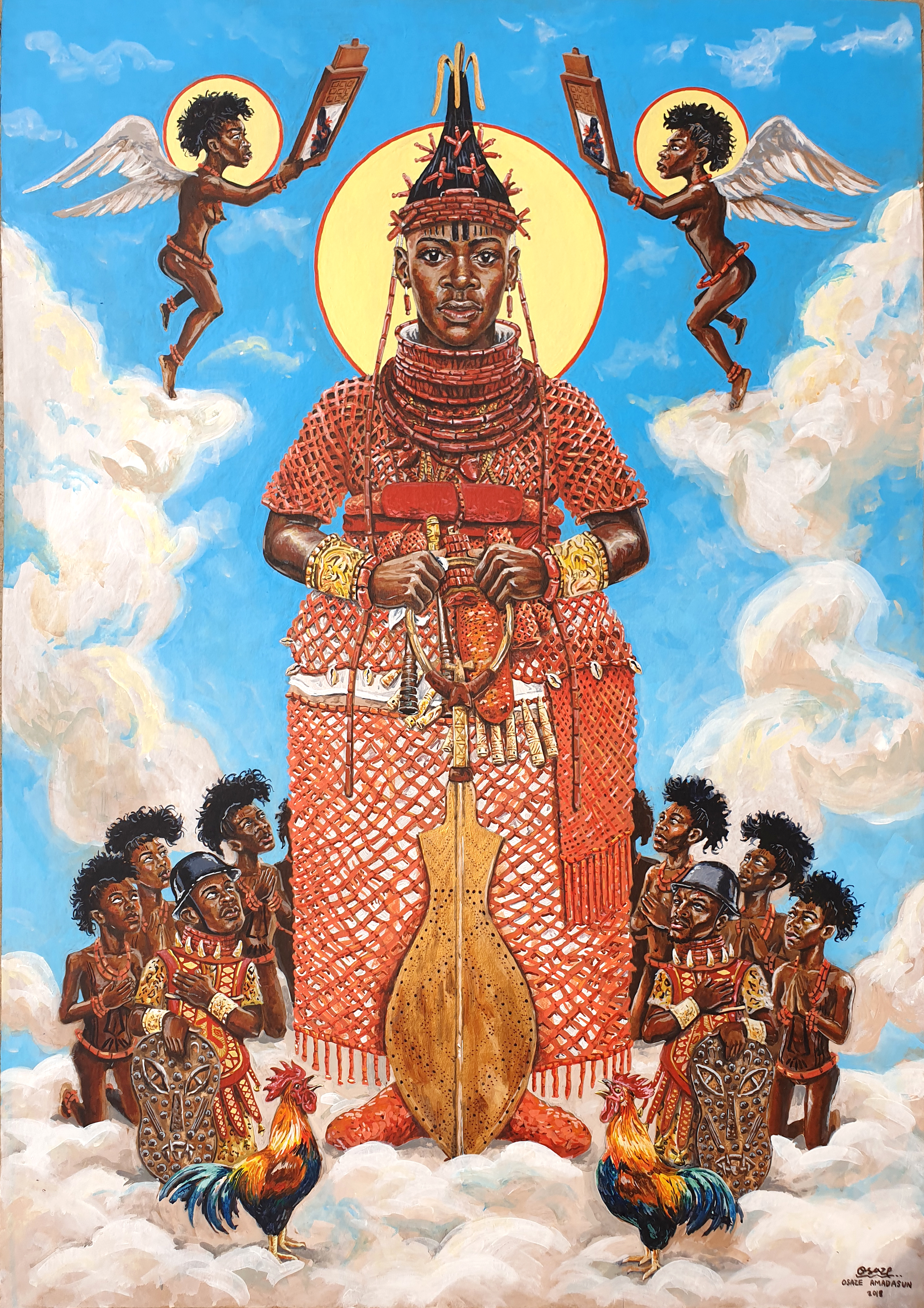 Oba Of Benin Youngest Wife