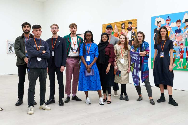 10 shortlisted artists (Photo Reece Straw)