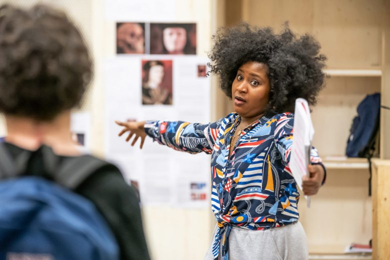 Susan-Wokoma-in-rehearsals-for-Teenage-Dick-at-the-Donmar-Warehouse-directed-by-Michael-Longhurst.-Photo-Marc-Brenner-1199-2048x1365