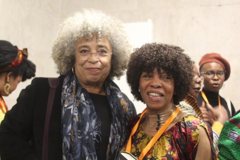Margaret Busby and Angela Davis april 2019 page 3 and 4